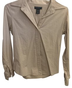 Banana Republic Button Down Shirt Beige