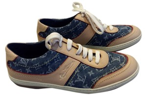 Louis Vuitton Blue Denim Canvas in Vachetta Leather (Size 36) Athletic