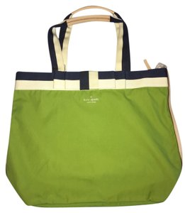 Kate Spade Nylon Lime Green Diaper Bag