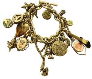 Lucky Brand Lucky Brand charm bracelet with toggle clasp