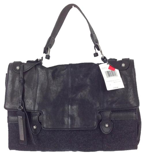 Marc New York Satchel in black / charcoal