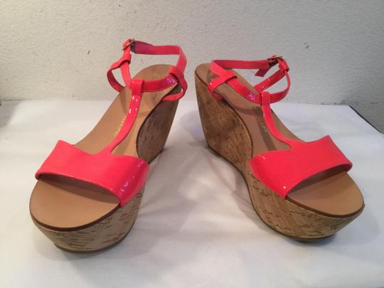 Juicy Couture Pink Wedges
