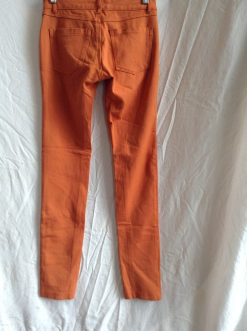 Timing Orange Leggings