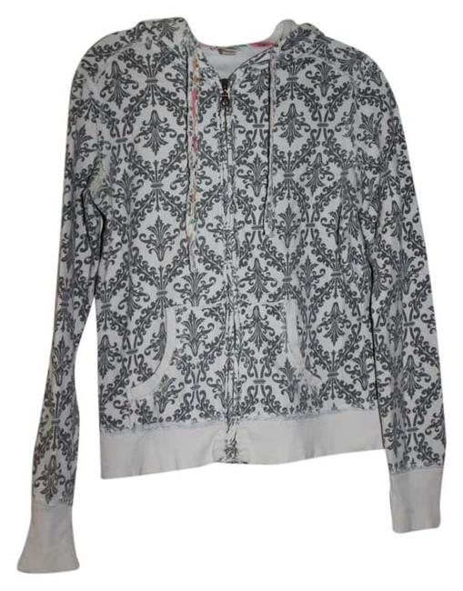 Mossimo Supply Co. Grey, off-white Jacket