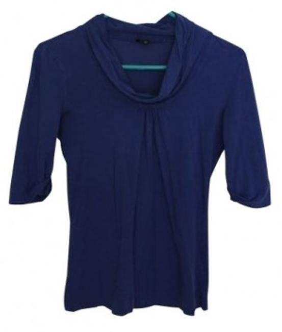 Preload https://item4.tradesy.com/images/theory-blue-tunic-size-4-s-4703-0-0.jpg?width=400&height=650