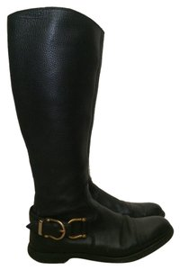 Burberry Riding Boot black Boots