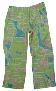 Lilly Pulitzer Straight Pants Light Green