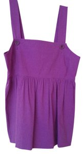 Theory Empire Waist Top Grape