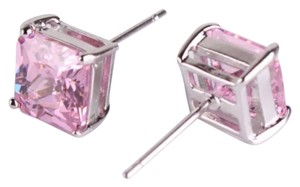 Other Brand New 24k Gold Filled Pink Topaz Stud Earrings