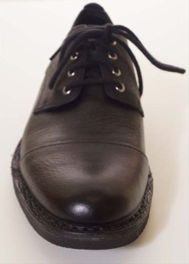 Cole Haan Blythe Cap Ox Ii Mens Black Leather Oxford Cap Toe Dress Shoes