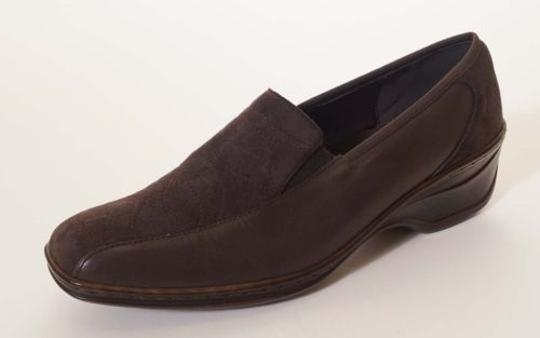 Other Jenny By Ara Reggi Womens Suede Leather Wedges Brown Flats