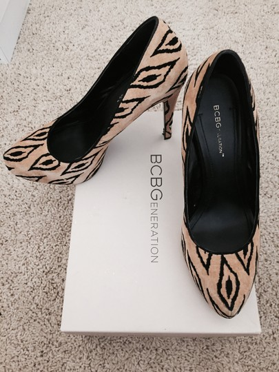BCBGeneration Tribal Leopard Pumps