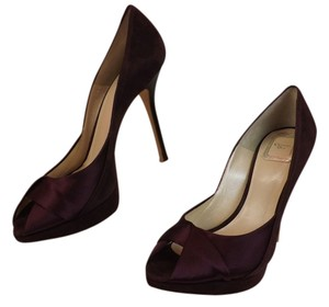 Dior Purple Suede Pumps