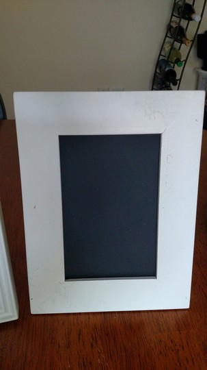 White and Off-white 6 Assorted Shabby Chic Chalkboard Other