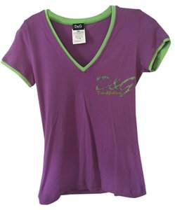 Dolce&Gabbana T Shirt Purple