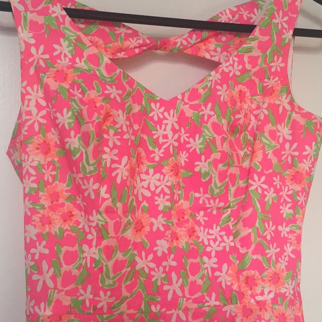 Lilly Pulitzer short dress Pink floral print on Tradesy