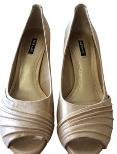 Alex Marie Gold Metallic Formal