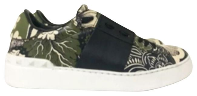 Item - Green Open Sneakers Size US 7 Regular (M, B)