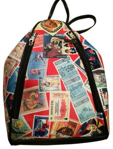 Sydney Love Travel Tote Map Zipper Backpack