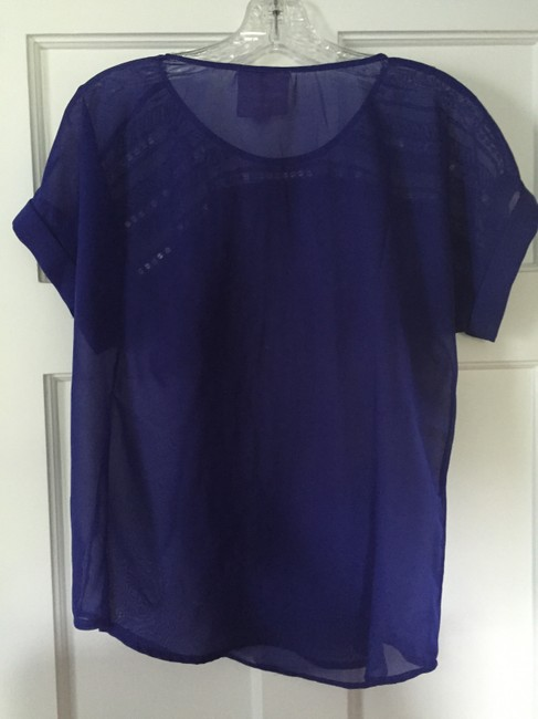 Romeo & Juliet Couture Top Blue