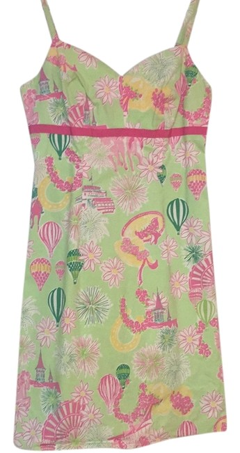 Preload https://item2.tradesy.com/images/lilly-pulitzer-dress-green-and-pink-derby-print-4707916-0-0.jpg?width=400&height=650
