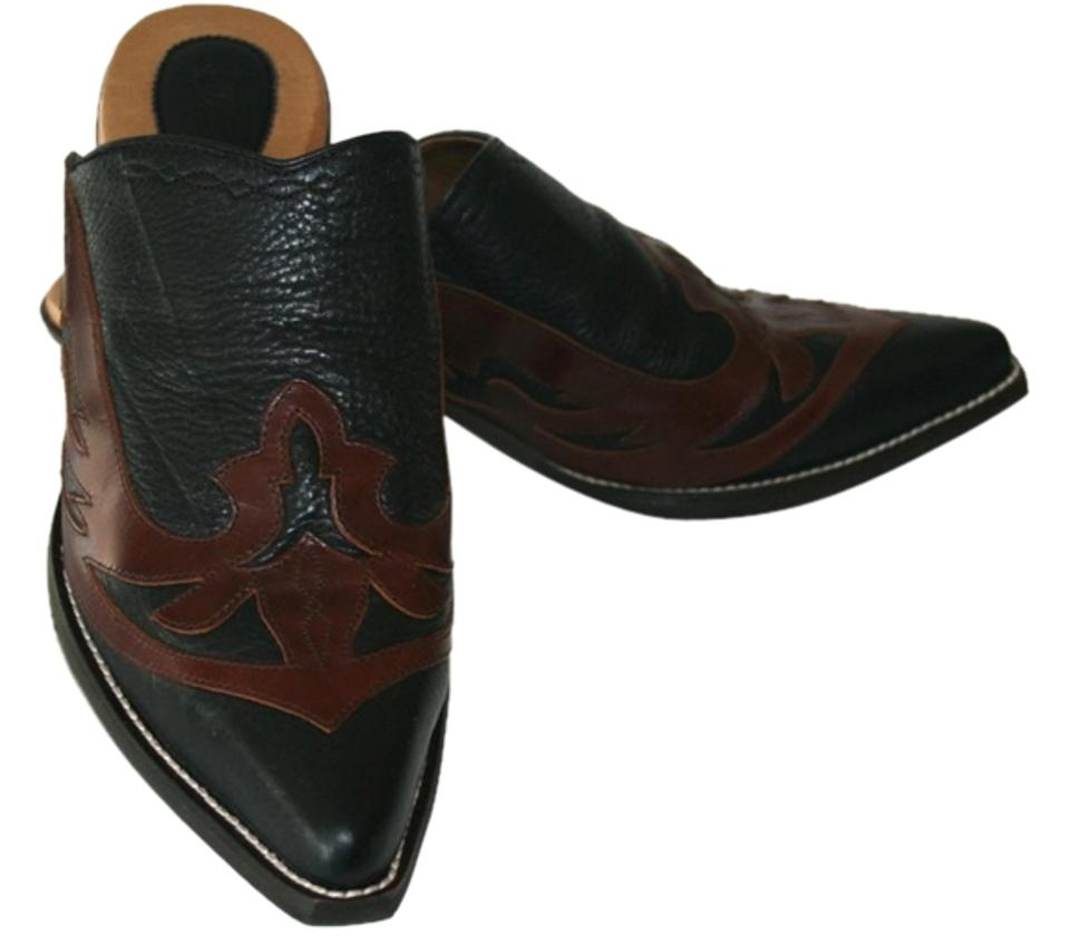 woman Ariat Black/Brown Jayden Mules/Slides Mules/Slides Jayden Excellent features 86fc96