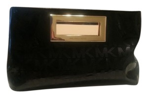 Michael Kors black/gold hardware Clutch