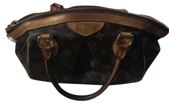 Louis Vuitton Satchel in Brown Logo LV