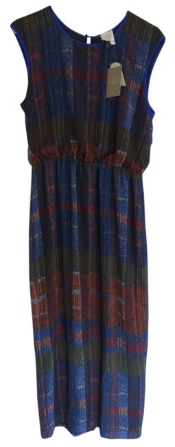 Plaid Maxi Dress by Anthropologie