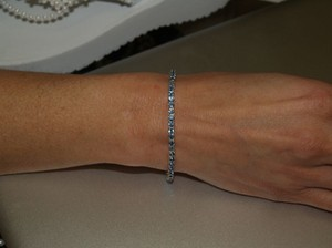 Blue/Silver Something For The Bride B25 Bracelet