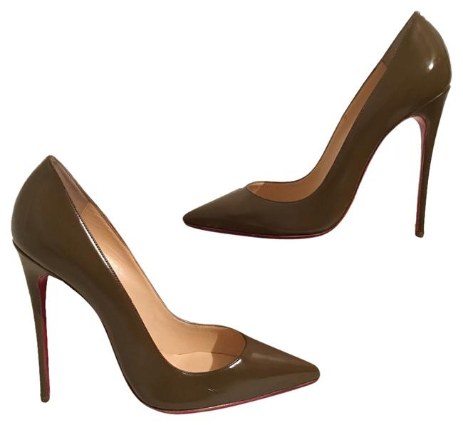 Item - Olive So Kate Green Patent Leather 37 Pumps Size US 7 Narrow (Aa, N)