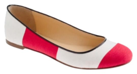 Preload https://item2.tradesy.com/images/jcrew-red-and-ivory-flats-4709056-0-0.jpg?width=440&height=440
