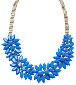 Cära Couture Jewelry Cara Couture Jewelry Blue Statement Necklace