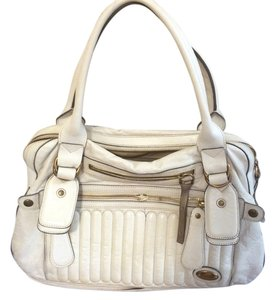 Chloé Chloe Leather Satchel in white