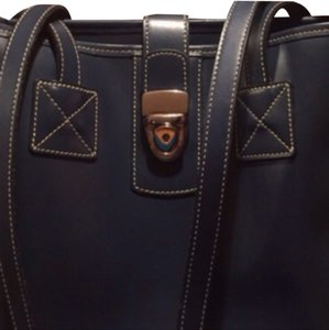 Dooney & Bourke Vintage Tote in Navy Blue