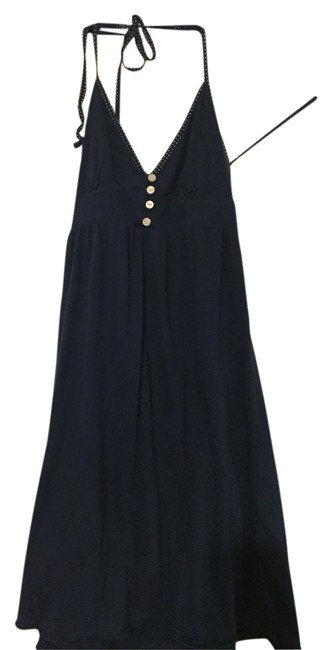 Aéropostale short dress Navy Flowy on Tradesy