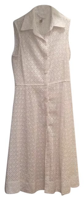 Banana Republic short dress White eyelet on Tradesy