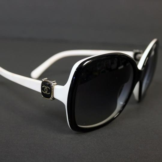 Chanel Chanel White CC Monogram Modern Sunglasses