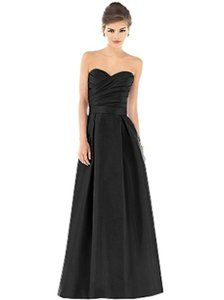 Alfred Sung Black Dessy Collection D537 Dress