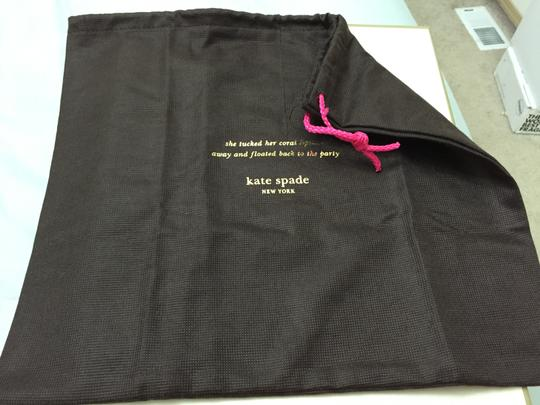 Kate Spade Kate Spade 13.5 x 11.5 dustbag dust bag for wallet, clutch, wristlet, small bag