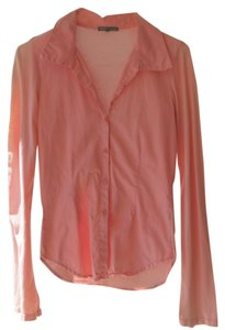 James Perse Button Down Shirt carnation pink