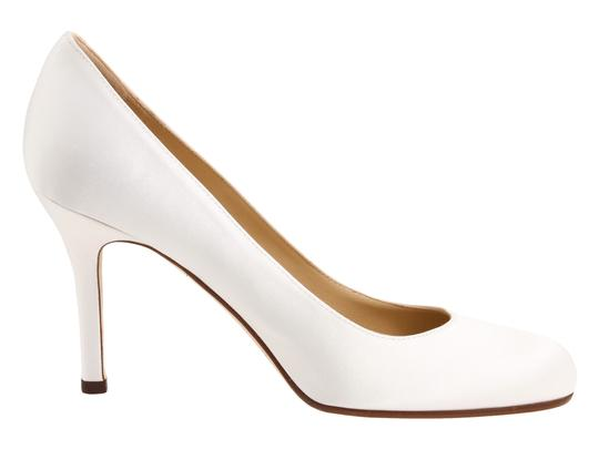 Kate Spade Karolina Classic Satin Bridal Size 6 White Pumps