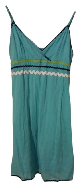 Peppermint short dress Light turquoise on Tradesy