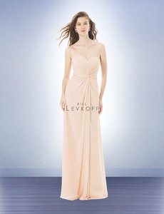 Bill Levkoff Champagne 484 Traditional Bridesmaid/Mob Dress Size 4 (S)