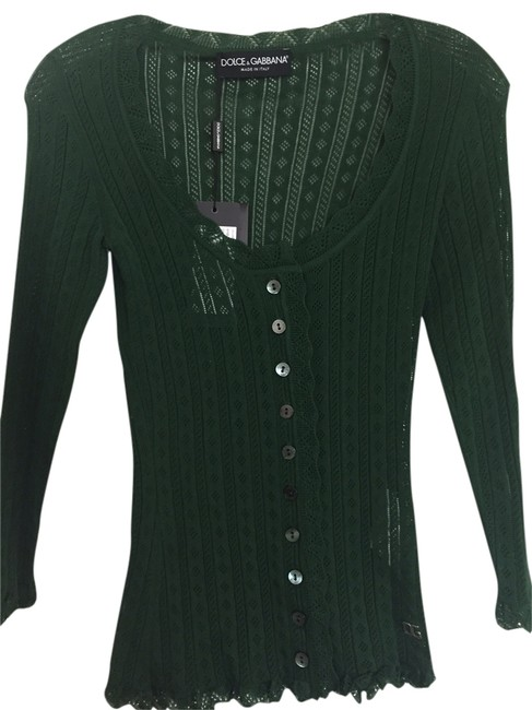 Preload https://item5.tradesy.com/images/dolce-and-gabbana-cardigan-green-4711414-0-0.jpg?width=400&height=650
