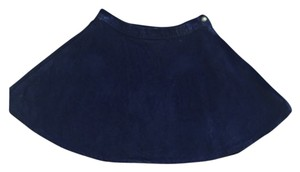 American Apparel Mini Skirt Navy