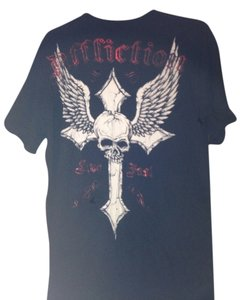 Affliction T Shirt Black