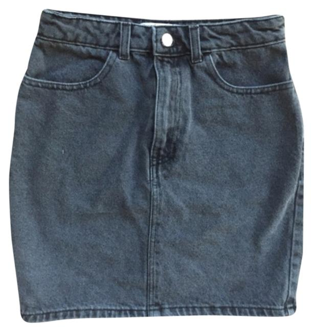 Preload https://item3.tradesy.com/images/american-apparel-stone-washed-black-high-waist-denim-miniskirt-size-4-s-27-4711882-0-0.jpg?width=400&height=650