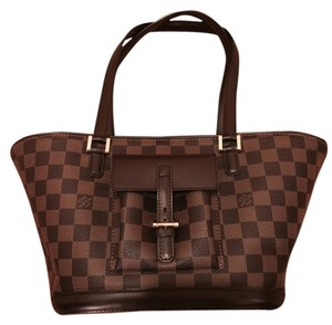 Louis Vuitton Lv Damier Tote Tote Pretty Vintage Tote Checker Neverfull Shoulder Bag