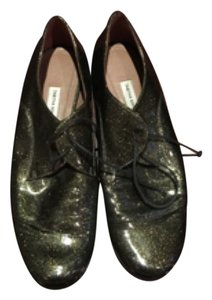 Tabitha Simmons Forest Green Flats